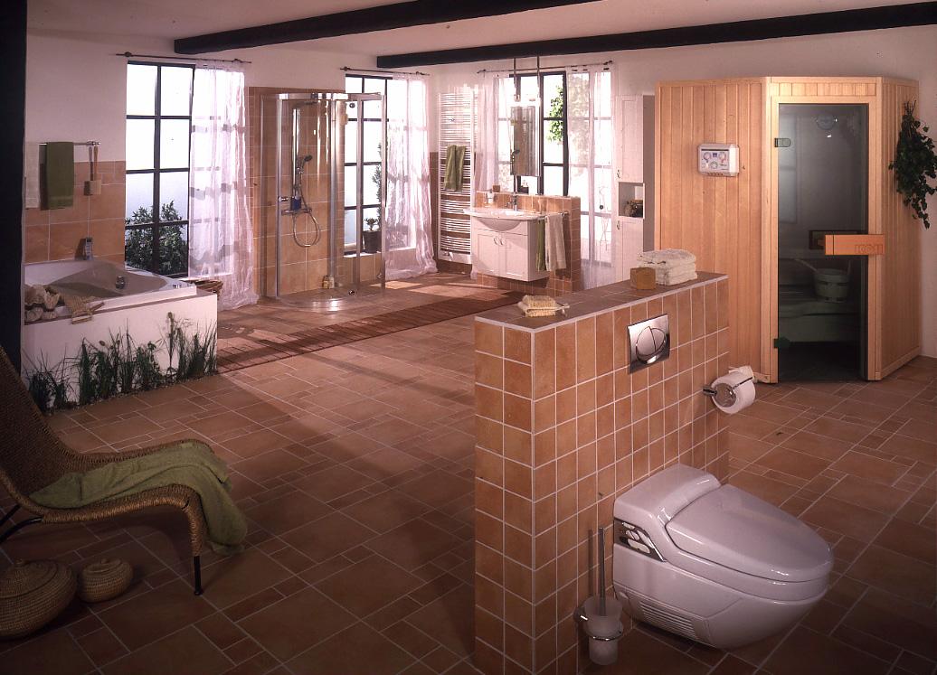 Koll-Sauna.de ++ Bad-Sauna.de ++ neu kleine Sauna speziell fürs Bad ++