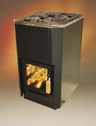 Holzbeheizter Saunaofen für Festbrennstoffe ++ Koll-Sauna.de ++ ...